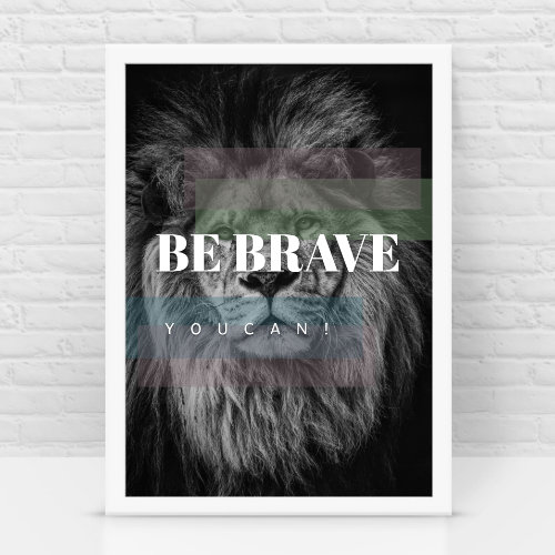 Be brave h/c