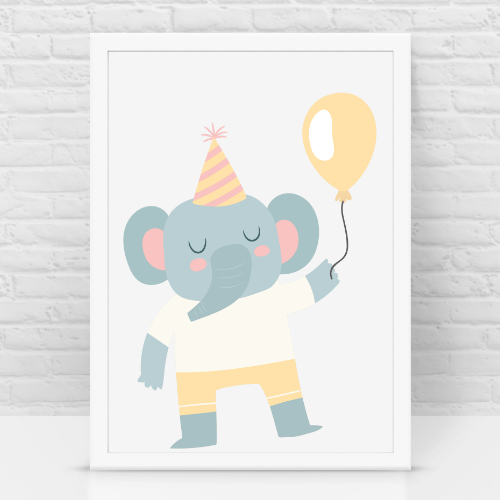Elephant birthday k/c