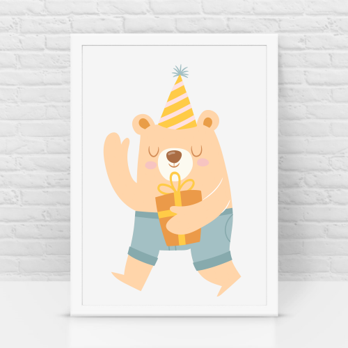 Bear Birthday k/c