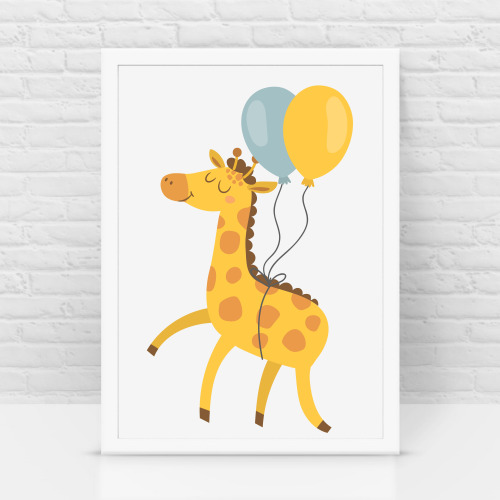 Giraffe Birthday k/c